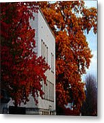 Autumn At The Grants Pass Courthouse Metal Print