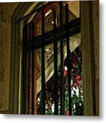 Autumn At The Old Sanitarium Metal Print