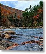 Autumn At The Youghiogheny Metal Print