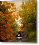 Autumn Attraction Metal Print