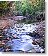Autumn Begins Metal Print by Frozen in Time Fine Art Photography