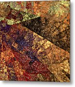 Autumn Bend Metal Print