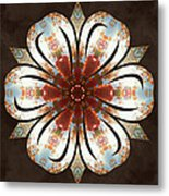 Autumn Blooming Metal Print