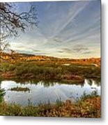 Autumn Borders Metal Print