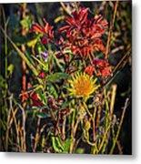 Autumn Bouquet Metal Print
