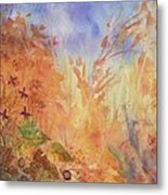 Autumn Breeze Metal Print