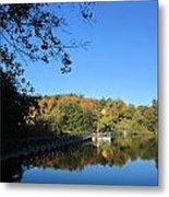Autumn By The Lake 1 Metal Print