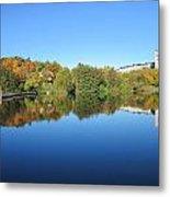 Autumn By The Lake 3 Metal Print