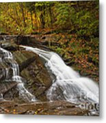 Autumn Cascade Metal Print