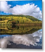 Autumn Clouds Metal Print