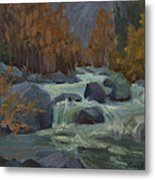 Autumn Color Blewitt Pass Metal Print