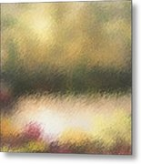 Autumn Colors - Abstract Metal Print