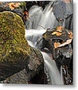 Autumn Colors On Big Crabtree Creek Metal Print
