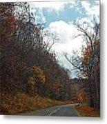 Autumn Drive2581 Metal Print