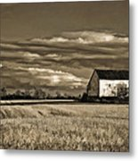 Autumn Farm II Metal Print