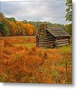 Autumn Foliage In Valley Forge Metal Print