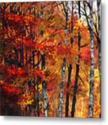 Autumn Glory I Metal Print