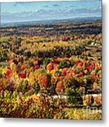 Autumn Glory Landscape Metal Print