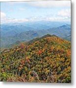 Autumn Great Smoky Mountains Metal Print