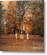 Autumn Guardians Metal Print