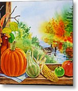 Autumn Harvest Fall Delight Metal Print