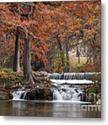 Autumn Idyll Metal Print