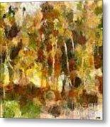 Autumn Impression 1 Metal Print