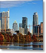 Autumn In Austin Metal Print