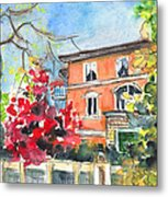 Autumn In Bergamo 01 Metal Print