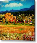 Autumn In Colorado Metal Print