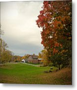Autumn In Connecticut. Metal Print