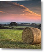 Autumn In Cornwall Metal Print