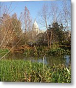 Autumn In Washington Dc Metal Print