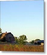 Autumn In Iowa Metal Print