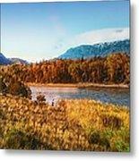 Autumn In Montana Metal Print