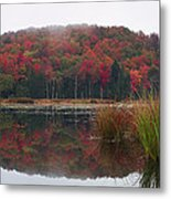 Autumn In Northern Vermont Metal Print