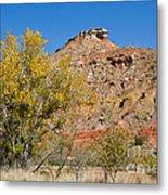 Autumn In Palo Duro Canyon 110213.119 Metal Print