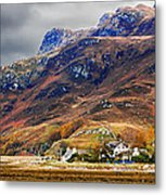 Autumn In Scotland In Dornie Metal Print