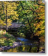 Autumn In Stillwater Metal Print