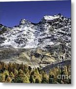 Autumn In The Alps 1 Metal Print