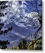 Autumn In The Alps 3 Metal Print