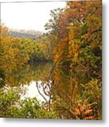 Autumn In The Butternut Valley-five Metal Print