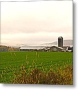 Autumn In The Butternut Valley-seven Metal Print