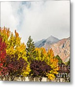 Autumn In The City Metal Print
