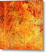 Autumn In The Country Metal Print