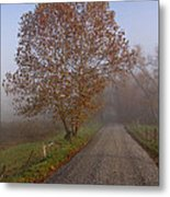 Autumn In The Cove V Metal Print