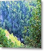 Autumn In The Gorge Metal Print