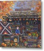 Autumn In The Ozarks Metal Print