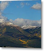 Autumn In The Sangres Metal Print