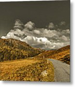 Autumn In The Valley Metal Print